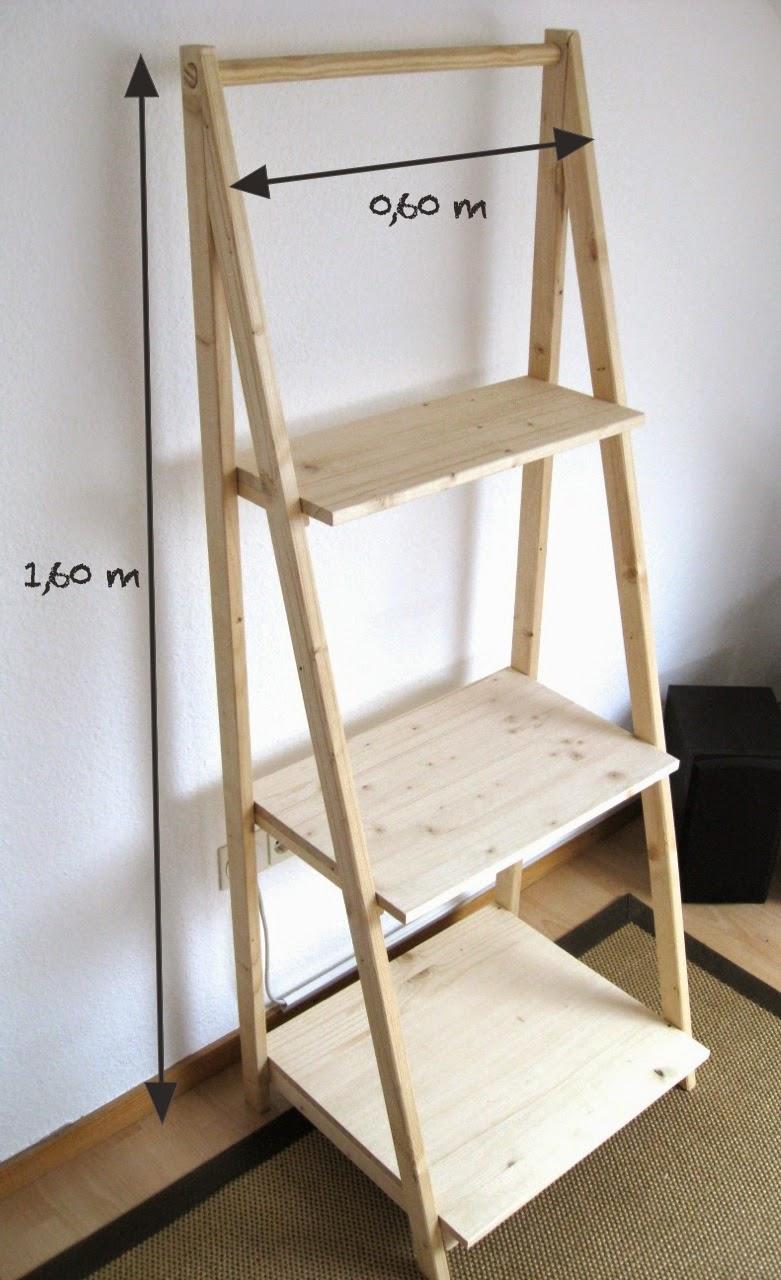 ringelspatz blumenleiter bauanleitung. Black Bedroom Furniture Sets. Home Design Ideas