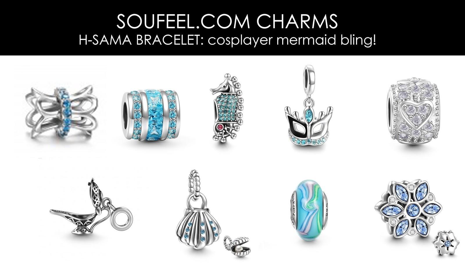 hsamablog affordable bracelet charms soufeel review