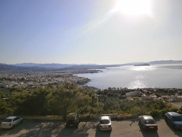 Widok na Chania, Akrotiri, Kreta