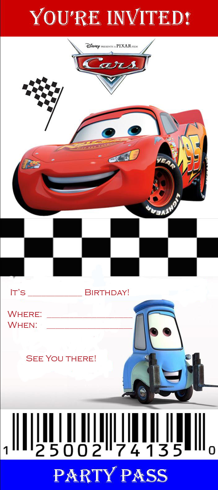 printable disney cars