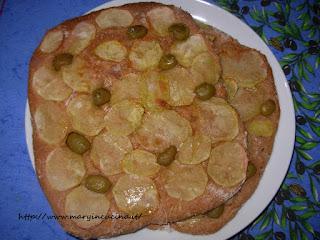 focacce patate e olive