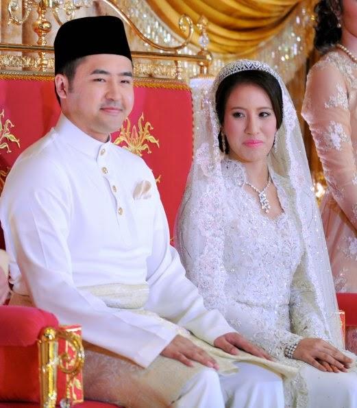 Foto perkahwinan anak perdana menteri 95