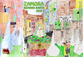 "CARTEL INFANTIL ASOCIACIÓN LUZ PENITENTE ""SEMANA SANTA 2020"""