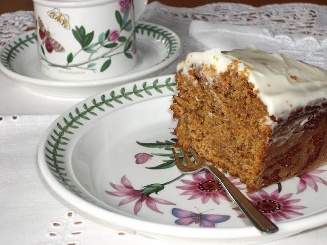 BIZCOCHO DE ZANAHORIA CARROT CAKE