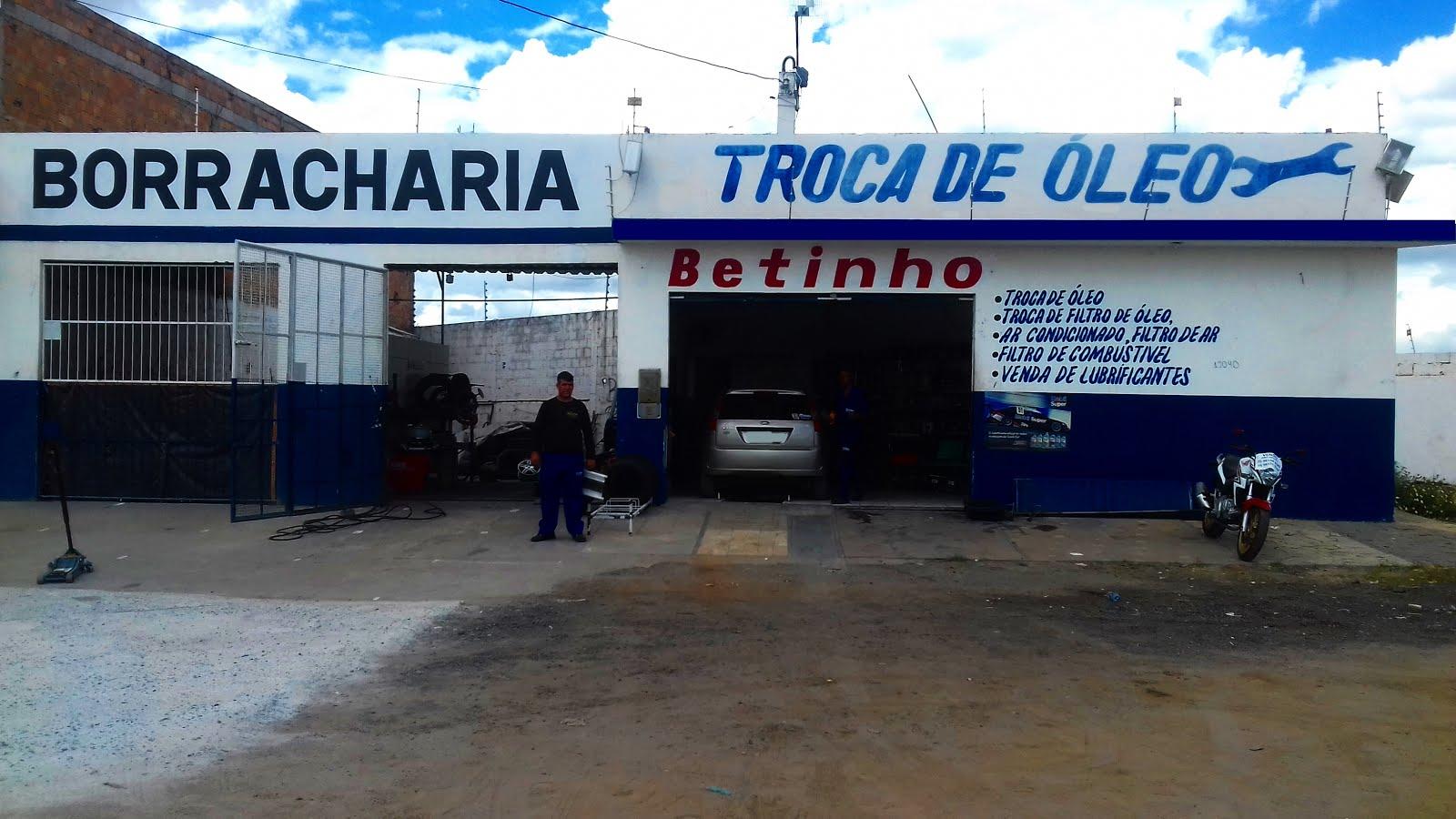 BETINHO TROCA DE ÓLEO E BORRACHARIA