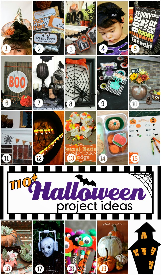 Halloween Bash Blog Hop Thursday 19 Projects | www.blackandwhiteobsession.com