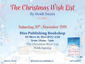 Diss Bookshop festive signing