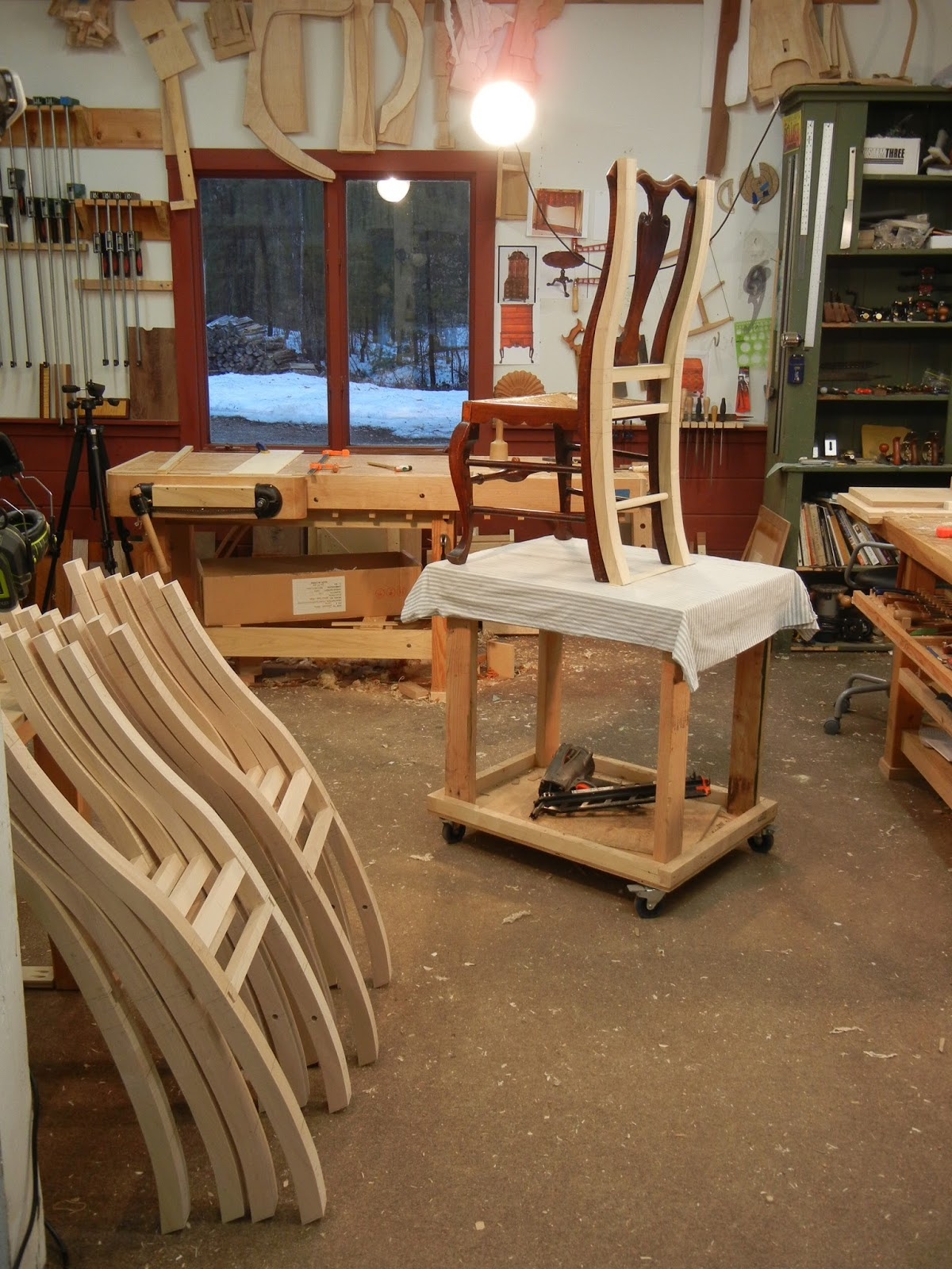 reproduction chair making process