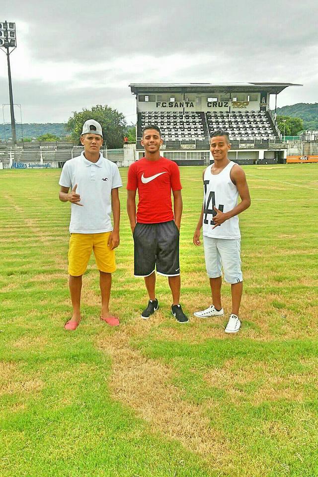 Junior Gualberto e Alerson Cortês. Que treinaram com Ricardo Cavalcanti.