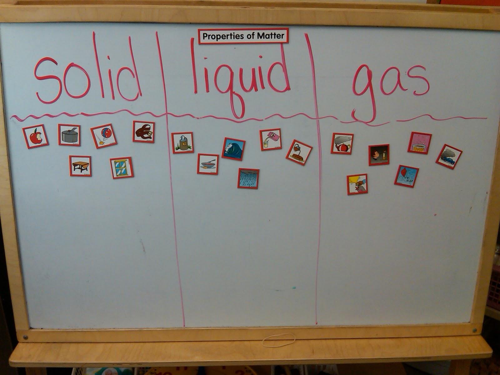 Mrs Simpsons First Grade Blog Properties Of Matter