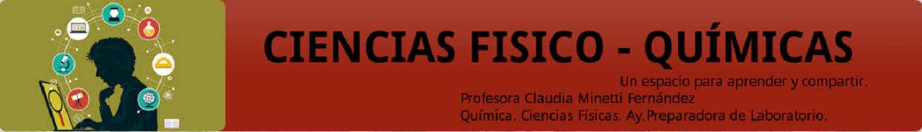 CIENCIAS FÍSICO-QUÍMICAS