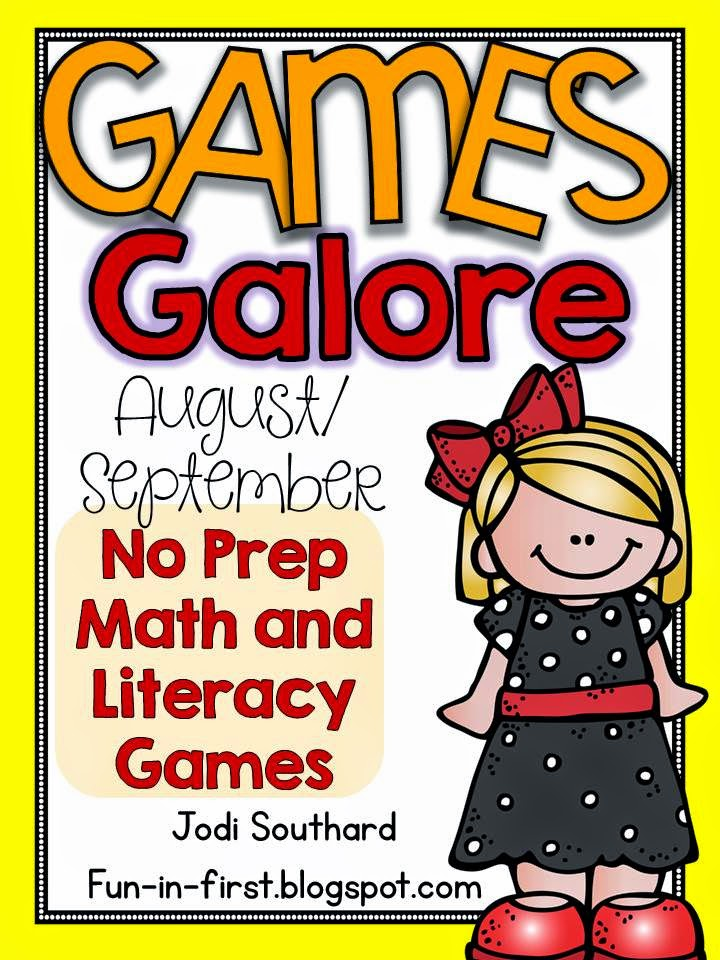 http://www.teacherspayteachers.com/Product/Games-Galore-No-Prep-Math-Literacy-Games-for-AugustSeptember-1349833