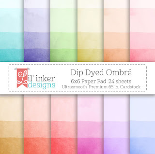 http://www.lilinkerdesigns.com/dip-dyed-ombre-paper-pad/#_a_clarson