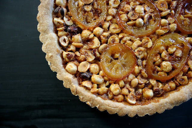 Lemon-Hazelnut Tart
