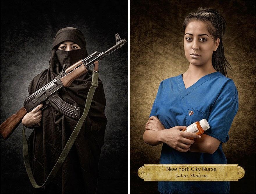 sahar shaleem - nyc nurse