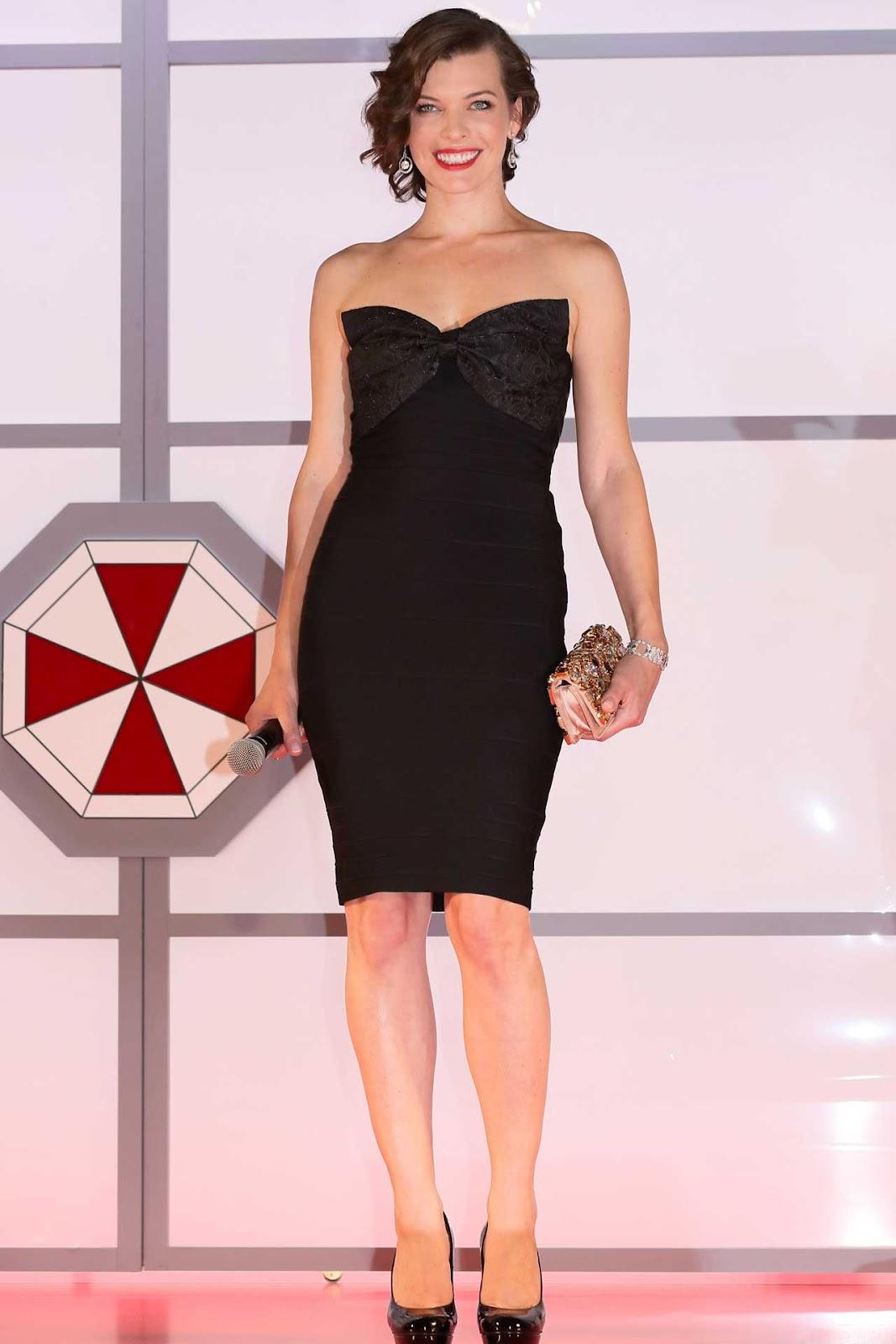 Milla Jovovich dress style