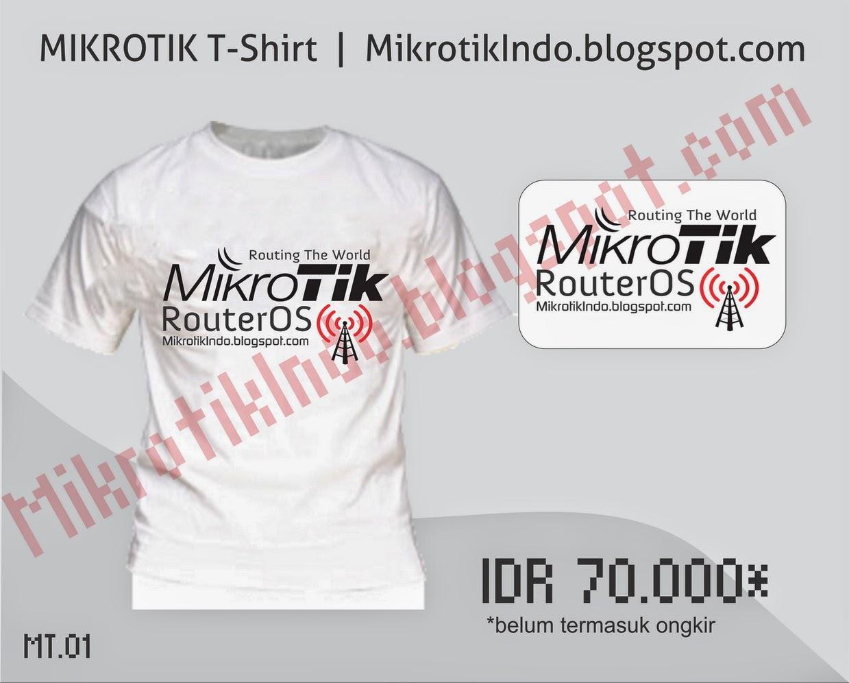 Kaos Mikrotik Keren by MikrotikIndo #2 – Pusat Pengetahuan