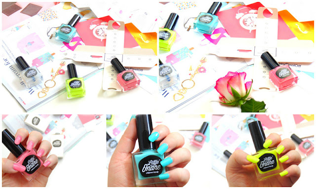 Little Ondine Natural Nail Polishes