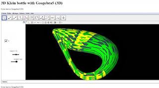 http://dmentrard.free.fr/GEOGEBRA/Maths/Espace4/KleinTube.html