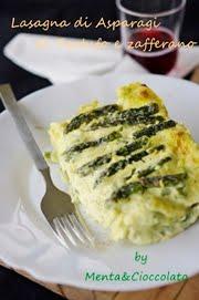 Lasagna agli asparagi, zafferano e tartufo