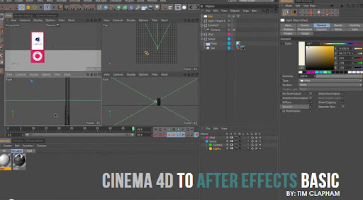 CINEMA 4D to After Effects Basic workflow