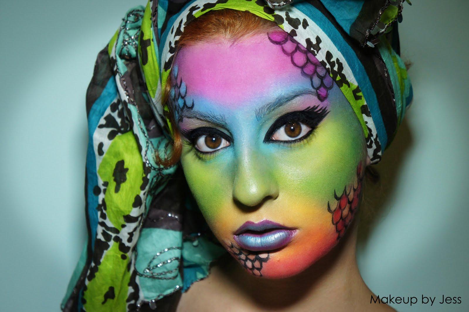 Rainbow Fish Makeup Rainbow Fish