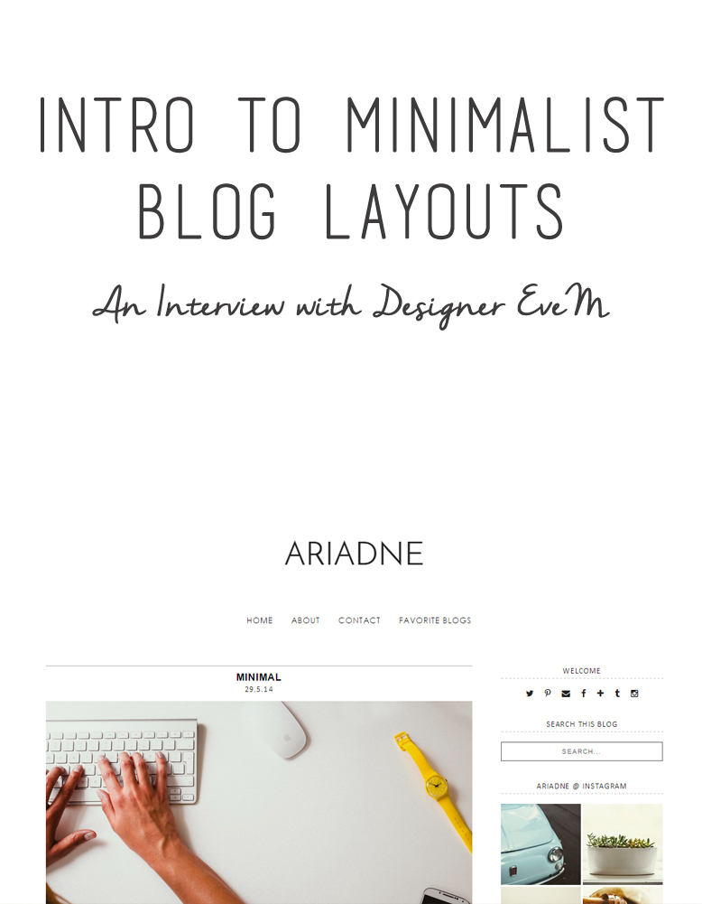blogging tips, blog layouts, free blog layouts, web design, minimalist design