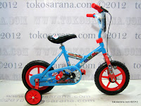 A 12 Inch Thomas and Friends Pavement Bike