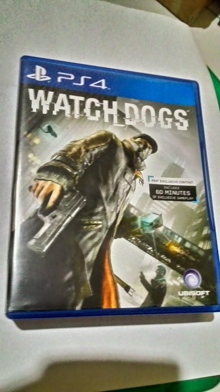 Rental Game Ps4 Ps 4 Kaset Bd Titanfall 2 Watch Dog