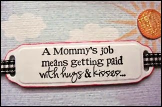 best quotes mothers day moms get paid with hugs and kisses image