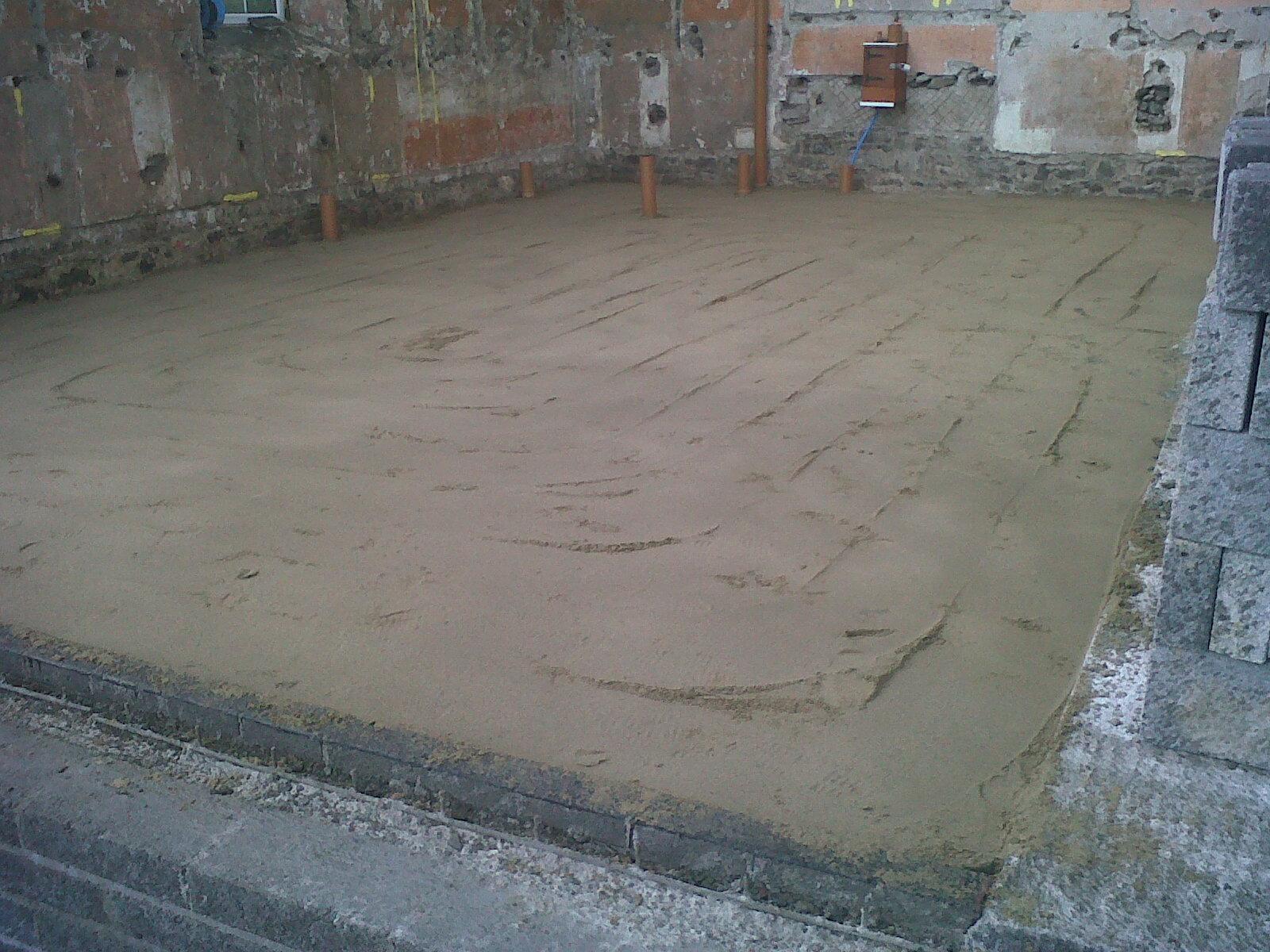 Amroth Project Ground Floor Slab Reinforcement Radon And Concrete