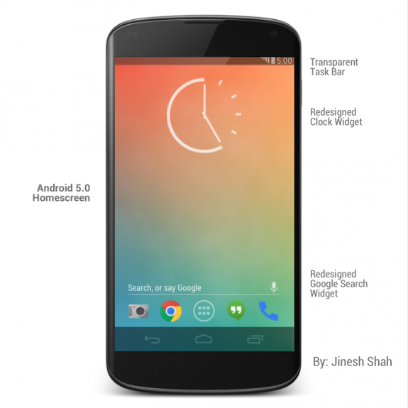 Android 5.0 key lime pie release and features