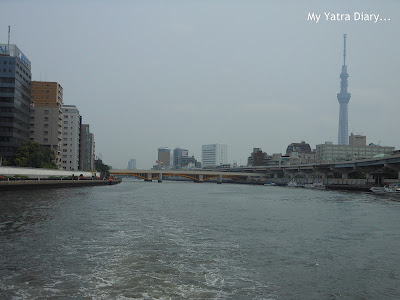 Wonderful views - Sumida river cruise, Tokyo