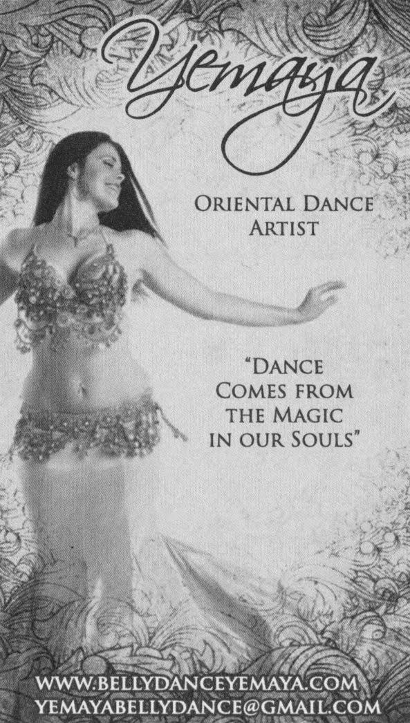 Yemaya Camille, Belly Dancer