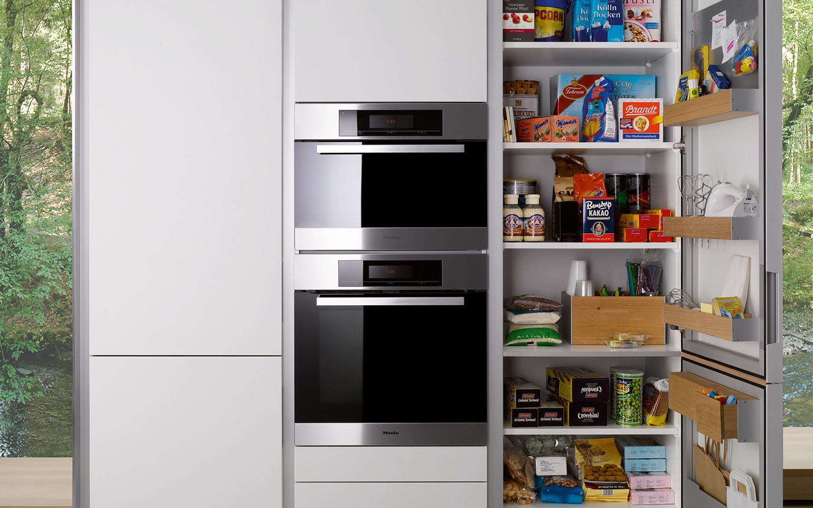 Siematic une cuisine design en finesse for Amenagement armoire cuisine