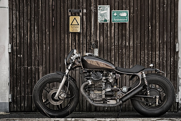 Hell Kustom     Honda CX500 By Wrenchmonkees