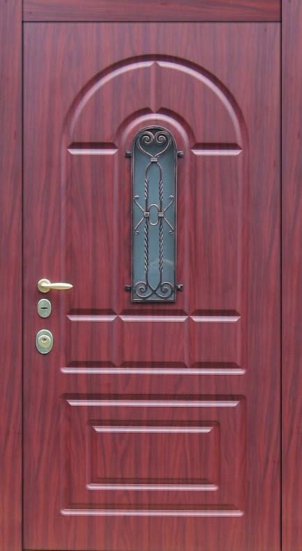 входные стальные двери с решеткой