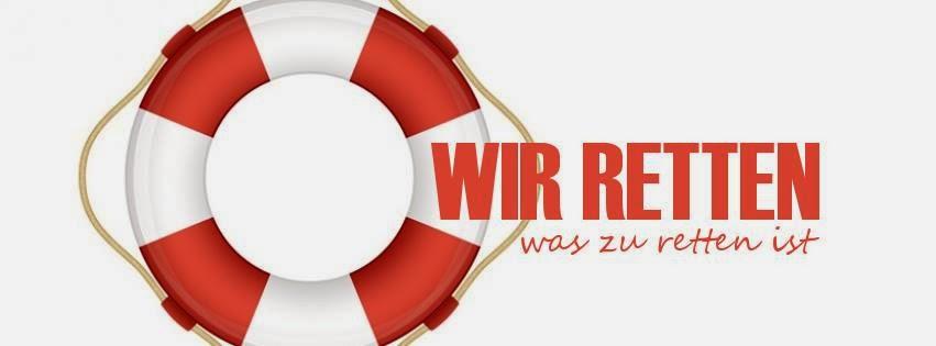 Logo Wir retten was zu retten ist, Logo by Zorra Kochtopf