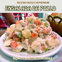 pechuga pollo,apio,papa,zanahoria,lechuga,chícharos,chiles,aceitunas,mayonesa