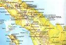North Sumatera Map