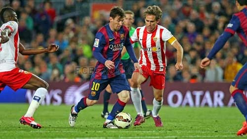 Video Full Match Barcelona vs Almeria 4-0 Liga BBVA Matchday 30