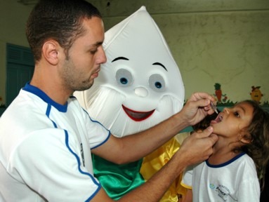 Muriaé atinge meta da Campanha Nacional de Vacinação contra a Poliomielite