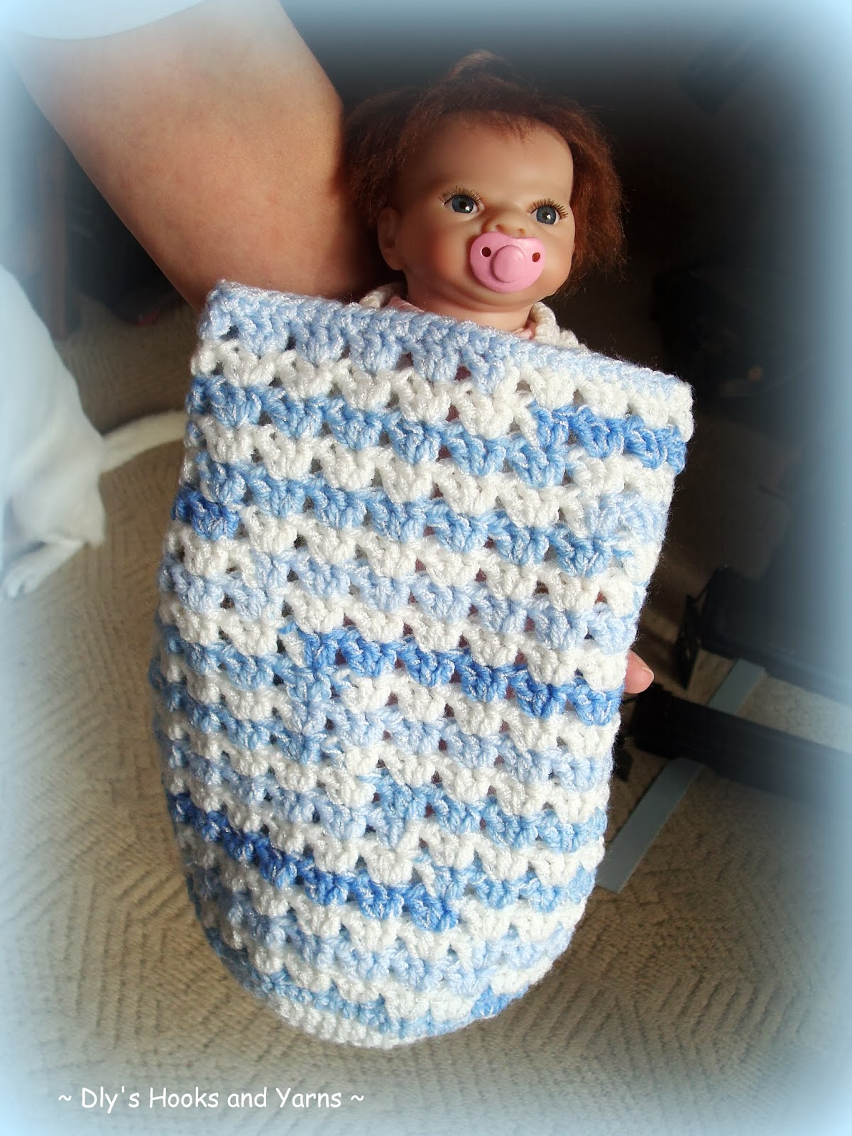 my little blue house ~: ~ \'blue skies\' preemie baby cocoon