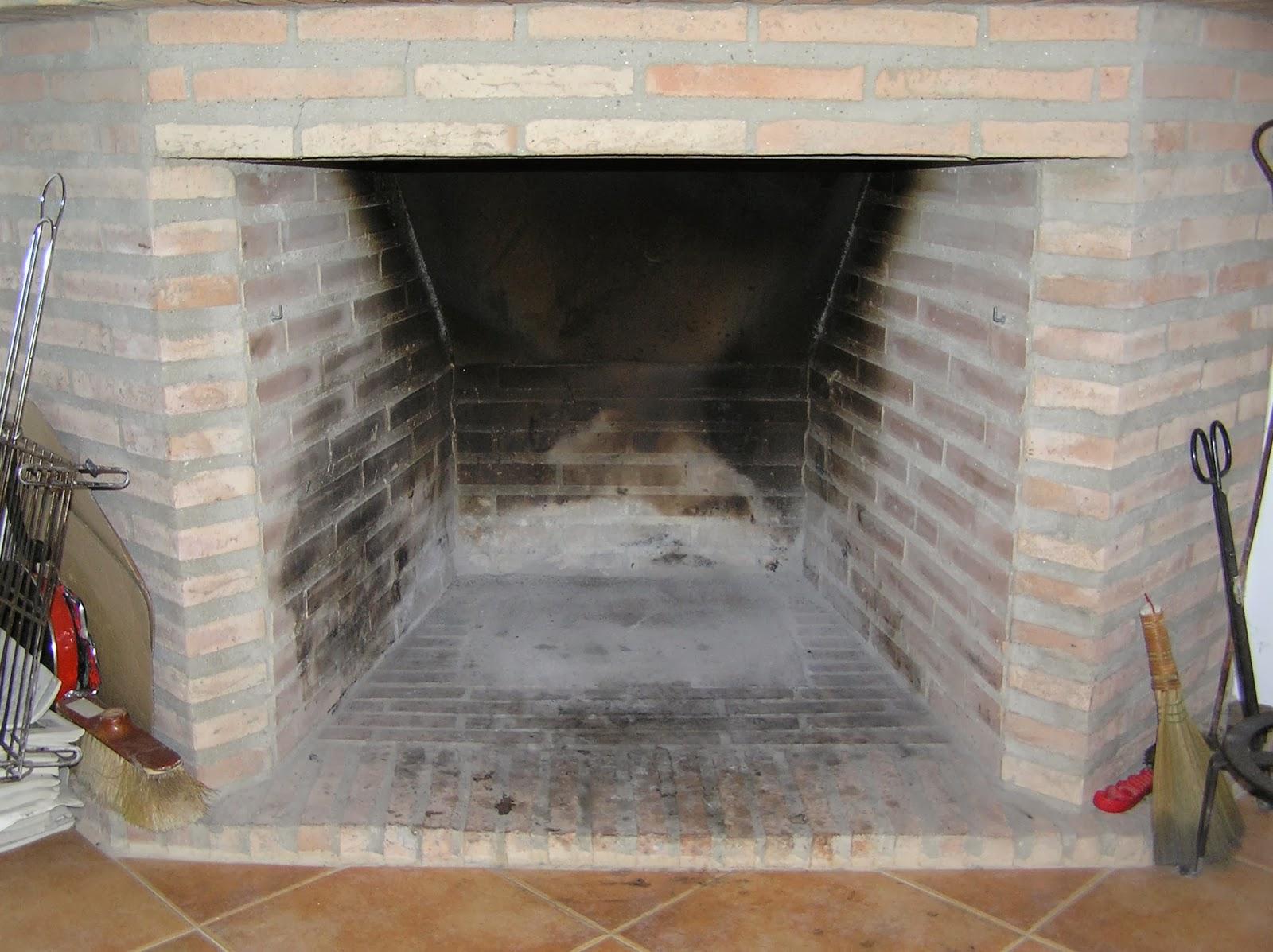 El huerto es facil medidas chimenea u hogar parte i - Como hacer una chimenea de obra ...