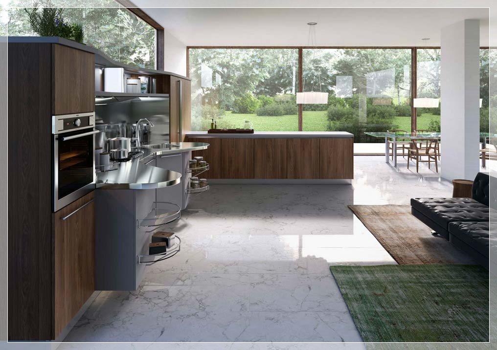Moderne italiensk kjøkken fra snaidero   interiør inspirasjon