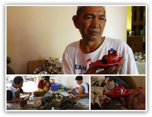 Sukses Bisnis Mainan Tradisional Perahu Klotok  - Kompas