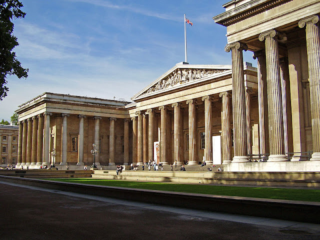 British Museum (main entrance) - London 2012, UK | Travel London Guide
