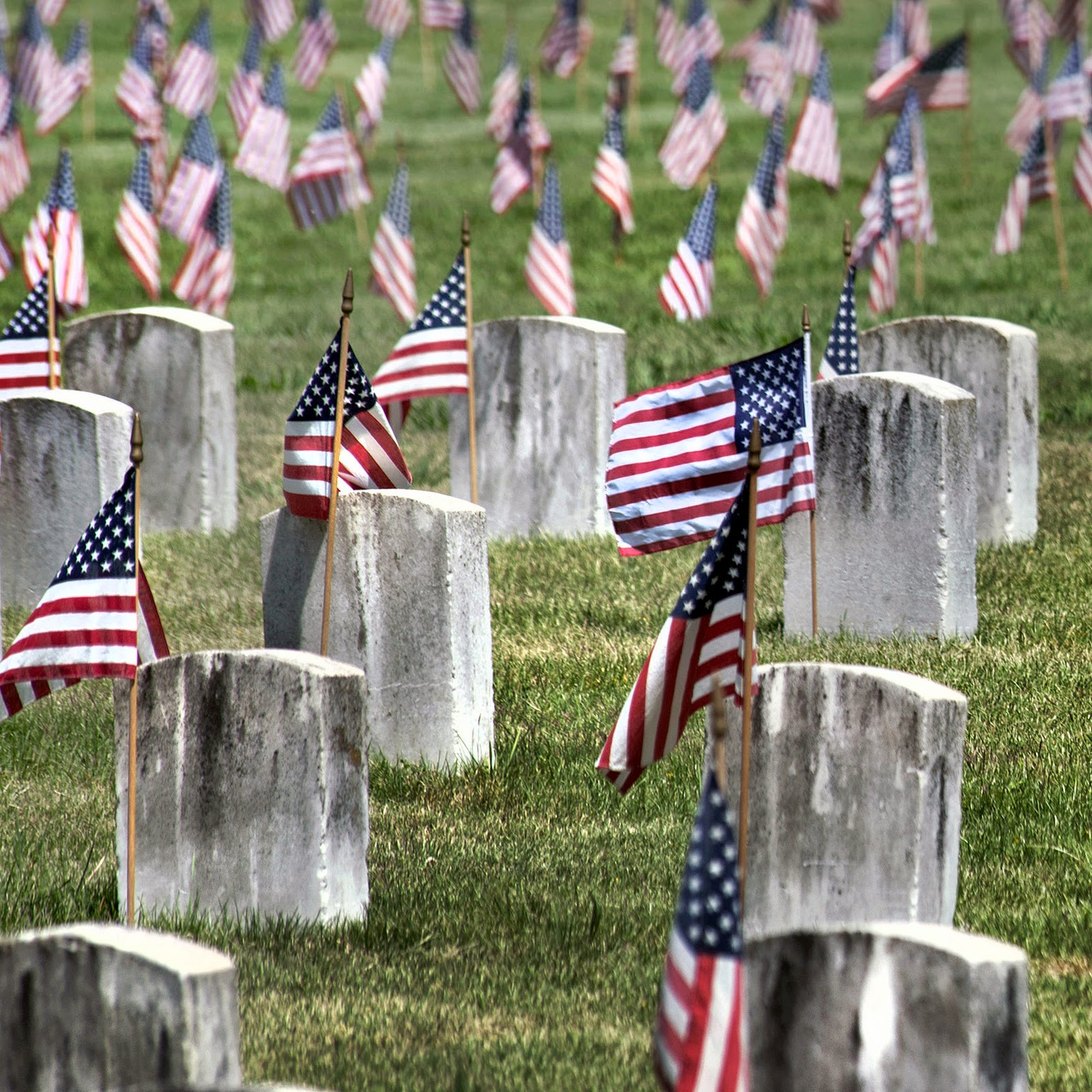Memorial Day Weekend Cemetery Pics