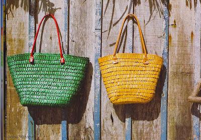 bolsa de palha-bolsa de praia-artesanato de palha de piaçava-artesanato da Bahia-trança de piaçava-artesanato indígena-Bolsa 6