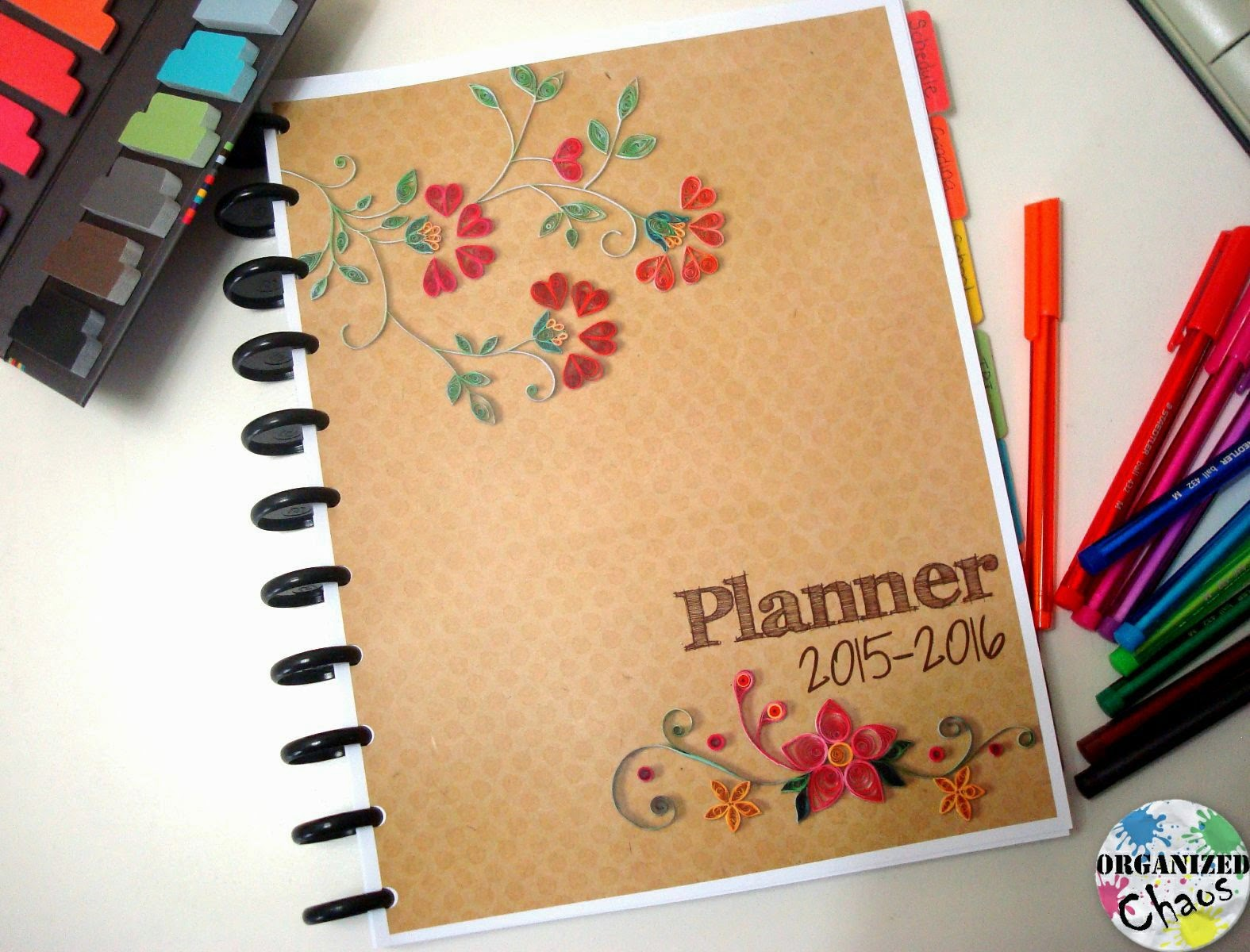 How I Set Up My Planner: 2015-16 teacher and home planner ...